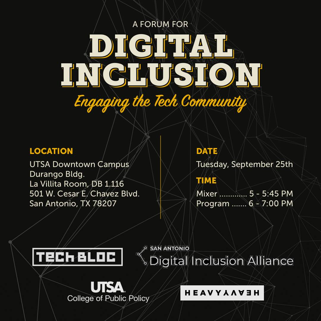 Digital Inclusion Forum – Engaging the Tech Community