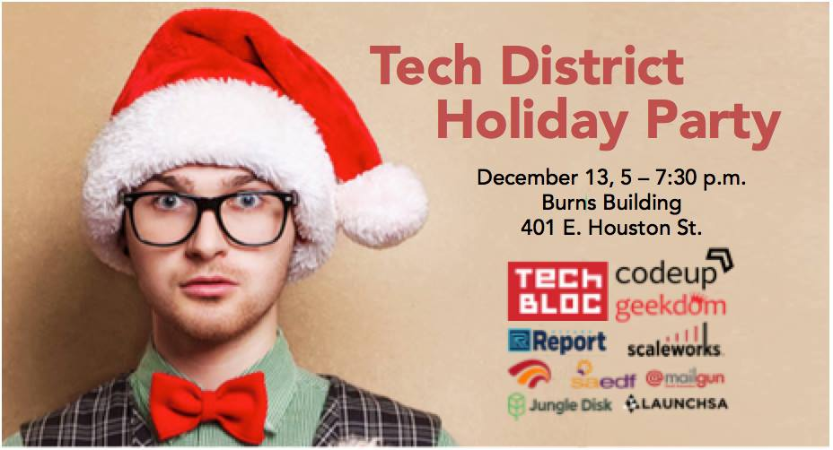 3rd Annual Tech District Holiday Party