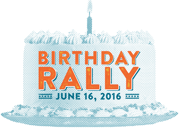 Tech Bloc Birthday Rally!